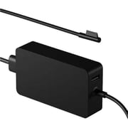 Microsoft® Power Adapter for Surface Book, Black (6NL00001)