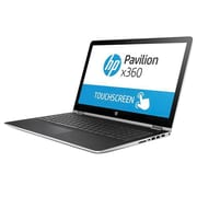 "HP® Pavilion x360 15-BR077NR 15.6"" 2-In-1 Notebook, Intel Core i5-7200U, 256GB SSD, 8GB, WIN 10 Home, Intel HD 620"