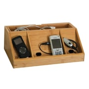 Lipper International® Bamboo Charging Station for Cell Phones (812L)
