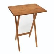 Lipper International® Snack Folding Table, Natural, 2/Pack (801-2)