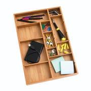 Lipper International® Bamboo Adjustable Drawer Organizer, Brown (8397)