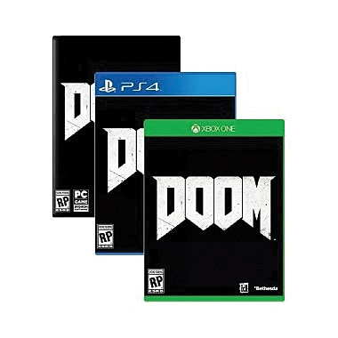 Bethesda® Doom Standard Edition PC Game Software, Windows, DVD-ROM (17020)