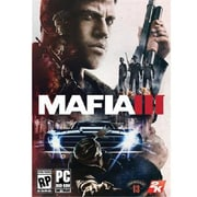 Take-Two™ Mafia III Standard Edition PC Game Software, Windows, DVD-ROM (41667)