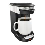 Hamilton Beach® Personal Cup™ 49970 1 Cup Pod Brewer, Black/Silver