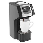 Hamilton Beach FlexBrew 3 Cups Single Serve Coffee Maker, Black (49974)