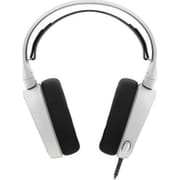 SteelSeries 61433 Arctis 3 Wired Over-The-Head Gaming Headset, White
