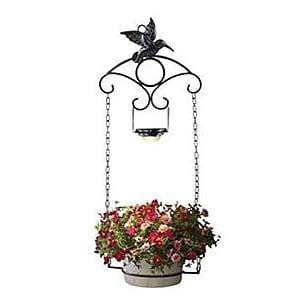 Southwire® LED Hummingbird Plant Hanger Lamp, 10 Lumen, Black (92321)