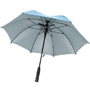 Creative Outdoor™ Bree-Z Bella™ Golf Umbrella with Built-In Fan, Blue (900495)