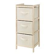 "Whitmor 29.5"" 3-Drawer Storage Cabinet, Cream (60267228)"