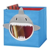 Whitmor Collapsible Cube Bin, Blue Shark (62564925SHARK)