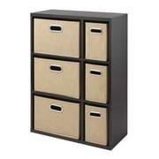 "Whitmor 35"" Multipurpose Storage Organizer Cabinet, Espresso (64227930ESPRBB)"