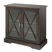 "Whitmor 31.5"" 2-Door Storage Cabinet, Walnut (64277938WNTBB)"