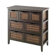 "Whitmor Bahama 31.9"" 7-Drawer Storage Chest, Espresso (64277951ESPRBB)"
