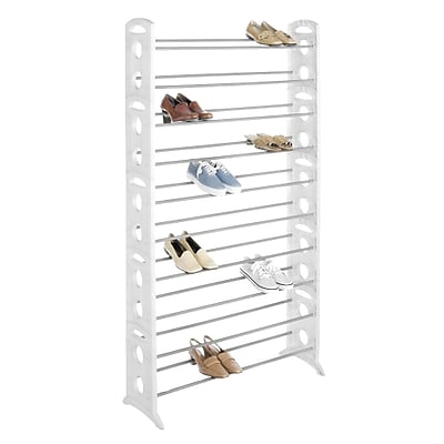 Whitmor 50-Pair Floor Shoe Tower, 62.2