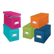Whitmor CD Boxes Set, 5/Pack (67543735)