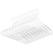 Whitmor Slim Sure Grip Hanger Set, Paloma Gray, 10/Set (6672490310PGRAY)