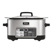 Ninja® 6 qt 4-in-1 Cooking System with Auto-iQ™ Boost, Silver (CS960)