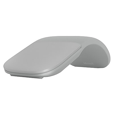 Microsoft® Surface Arc Wireless Bluetooth Blue Track Mouse, Light Gray (CZV00001)
