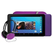 "Ematic® EGQ373 7"" Tablet, 16GB, Android 7.1, Purple"
