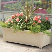 New Age Pet® ecoFlex™ Danville Rectangular Planter, Natural Maple (EPLT203R48)