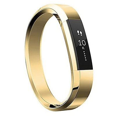Fitbit Small Metal Bracelet for Alta HR/Alta Activity Trackers, 22k Gold Plated (FB158MBGDS)