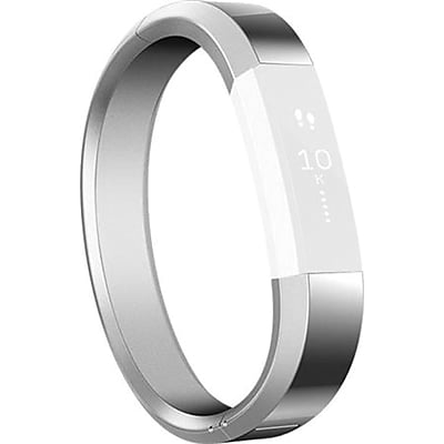 Fitbit Small Metal Bracelet for Alta HR/Alta Activity Trackers, Silver (FB158MBSRS)