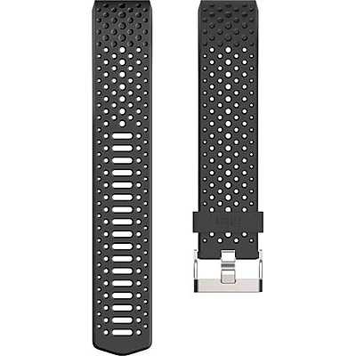 Fitbit Small Sport Wrist Band for Charge 2 Activity Trackers, Black (FB160SBBKS)