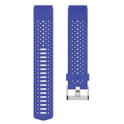 Fitbit Large Sport Wrist Band for Charge 2 Activity Trackers, Cobalt (FB160SBBUL)