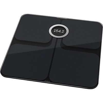 Fitbit Aria 2 Wi-Fi Smart Scale, Black (FB202BK)