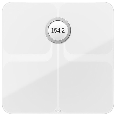 Fitbit Aria 2 Wi-Fi Smart Scale, White (FB202WT)