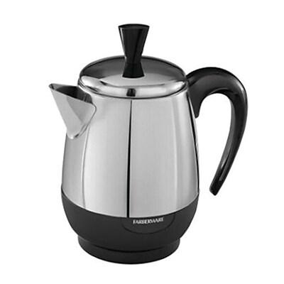 Farberware FCP240 4 Cup Electric Percolator, Silver 24274861