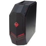 HP® Omen 880-020 AMD Ryzen 5 1400, 1TB HDD, 256GB SSD, 8GB, WIN 10 Home, AMD Radeon RX 580 Gaming Desktop Computer