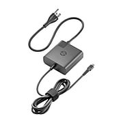 HP 65 W USB Travel Power Adapter, Black, for Notebook/Tablet PC (HPX7W50AA)