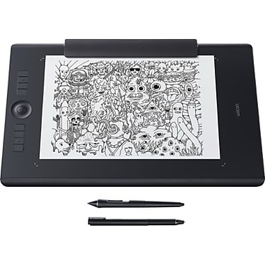 Wacom® Intuos® Pro PTH860P Paper Edition Large Creative Pen Tablet, Black