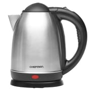 Chefman® Electric Kettle, 1.8 qt, Cordless, Silver/Black (RJ11-17)