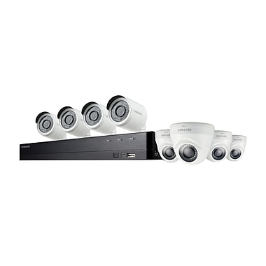Samsung Wisenet SDH0C74083HFN Wired DVR Security System with 8 Cameras