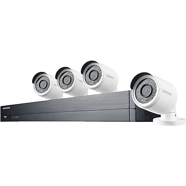 Samsung SDHB73043BFN H.264 Wired DVR Security System with 4 Cameras