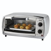 Oster® 4-Slice Toaster Oven, Silver (TSSTTVVGS1)