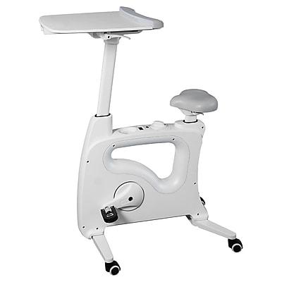 Loctek Flexispot Deskcise Pro Exercise Workstation, White