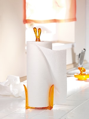 Koziol Single Roll ROGER Rabbit Paper Towel Stand (5226632)