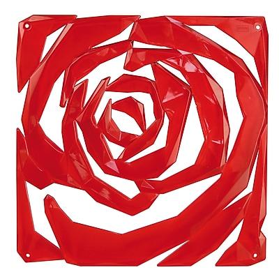 Koziol ROMANCE Room Divider Ornament Set of 4 Transparent Red (2039536)