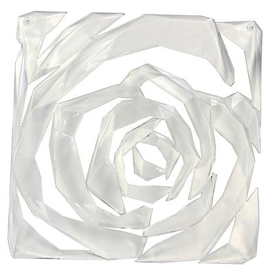 Koziol ROMANCE Room Divider Ornament Set of 4 Transparent Clear (2039535)