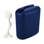 Koziol HOT STUFF L Storage Container 500g Deep Velvet Blue with White (3058398)