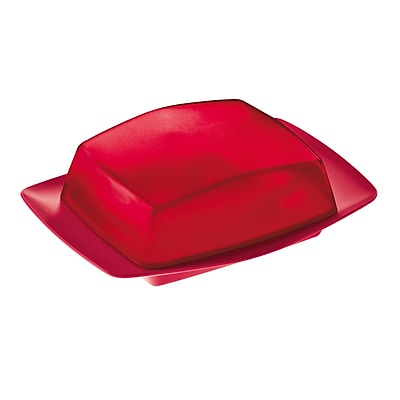 Koziol RIO Butter Dish Raspberry Red With Transparent Red (3619103)