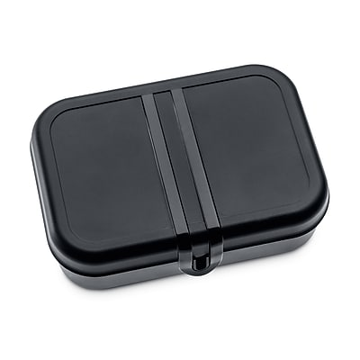 Koziol PASCAL L Lunch Box with Separator Black with White (3152499)