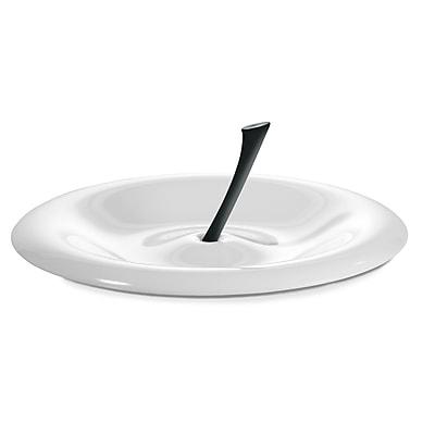 Koziol BIG APPLE Fruit Dish White With Black (3170525)