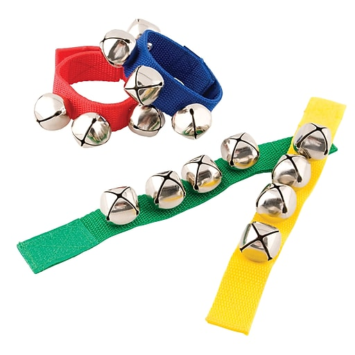 Westco Wrist Bell, 4 Bell , Colors may vary
