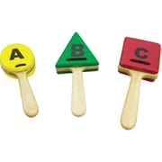 Sounds Like Fun ABC Clappers, Red, Green & Yellow, Set