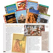 Teacher Created Materials Cultures Around the World Set (12074)