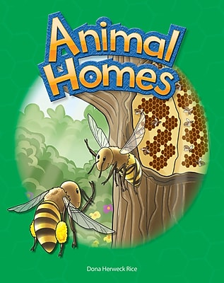 Teacher Created Materials Physical Book Animal Homes Lap Book (12482)